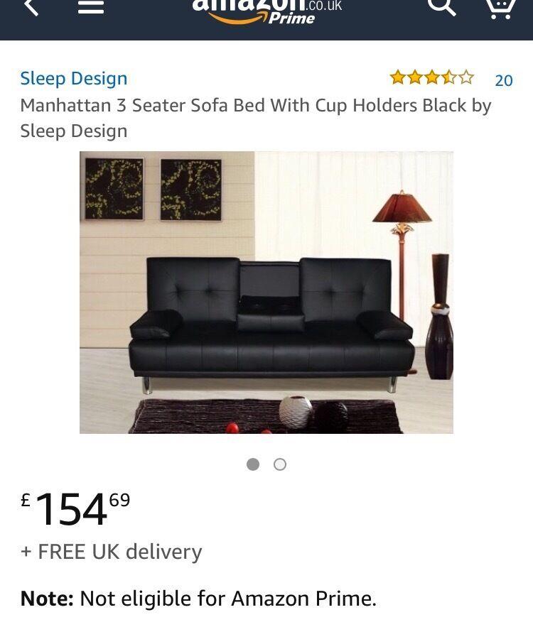Nearly New Amazon Sofa Bed