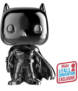 Black Chrome Batman NYCC Pop Vinyl Epping Whittlesea Area Preview