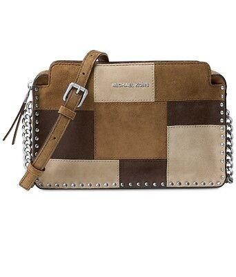 6876bca3d06e NWT MICHAEL Michael Kors ASTOR LG Messenger Shoulder Bag~MSRP$268