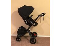 Brand new and boxed stokke xplory v5 in black