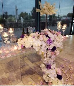 Wedding backdrop and table combo