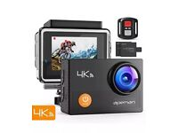 Apeman 4K action waterproof lcd camera 16mp