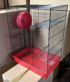 NEW Rodent/Small Animal Cages with FREE Solid Wheel-COLLECTION ONLY MELTON MOWBRAY