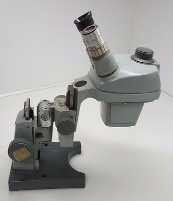 Bausch And Lomb Bl 1x-2x Microscope With 10x Eye Piece
