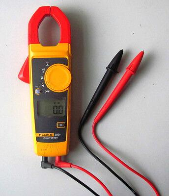 Fluke 302 Digital Clamp Meter Ac Multimeter Tester New Brand Case