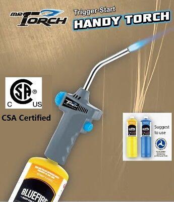 Mr.torch Trigger Start Handy Gas Welding Torchmapp Map-pro Propanecsa Certifie