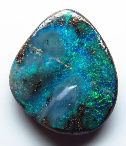 Australian Boulder Opal 5.55ct Queensland Natural Stone