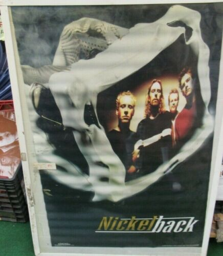 NICKELBACK RARE 2000 POSTER NO DOUBT OUT OF PRINT 2000