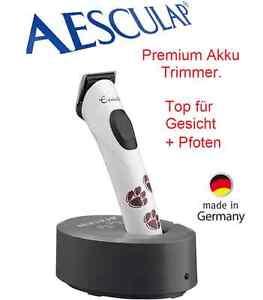 AESCULAP Exacta Trimmer. Hunde Schermaschine f. Feinarbeiten z.B. Pfoten+Gesicht