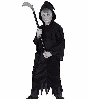 Il Kinder Halloween Sensenmann Robe Kapuze Death Verkleidung Kinder Kostüm 7053