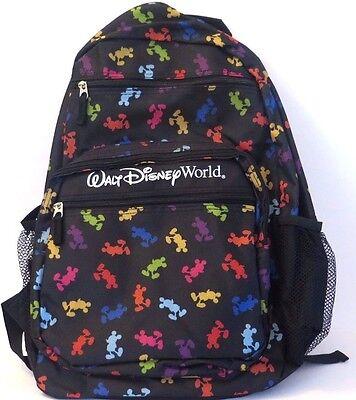 Walt Disney World Disney Parks Mickey Mouse Backpack Large Size-Adult NEW