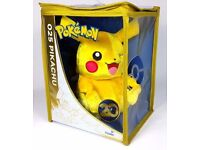 Pokemon Pikachu 20th Anniversary Limited Edition Plush Toy (Delivery Available)