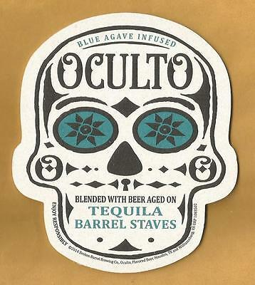 16 Oculto Beer Coasters   Broken Barrel Brewing Co