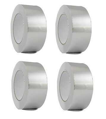 4 Rolls Aluminum Foil Tape 2 X 150 With Liner - Malleable Foil - Free Shipping