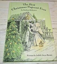 The Best Christmas Pageant Ever HC Book Barb Robinson ...