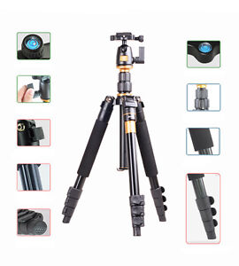 New-professional-folding-Tripod-Q555-Tripod-Monopod-for-Camera