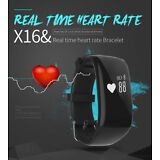 Waterproof Smart Watch Band Heart Rate Monitor Pedometer Fitness Sports Bracelet