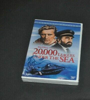 DVD--DISNEY--SPECIAL EDITION-20,000 LEAGUES UNDER THE SEA-SEALED