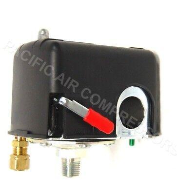 Speedaire 5z185 5z185b Pressure Switch W On-off Lever 105-135 Psi New Oem Part