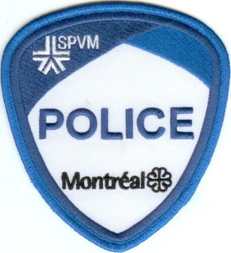 Montreal Police SPVM Quebec Canada Police Patch Canada