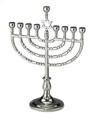 Traditional Menorah - Jewish Gift - Chanukah Chanukkah Hanukkah - Aluminum](Menorah Tradition)