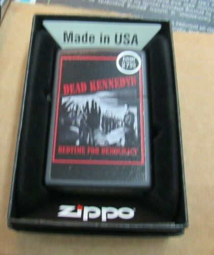 DEAD KENNEDYS ZIPPO LIGHTER AUTHENTIC 2018 LICENSED ROCK N ROLL