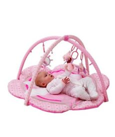 Baby pink play mat