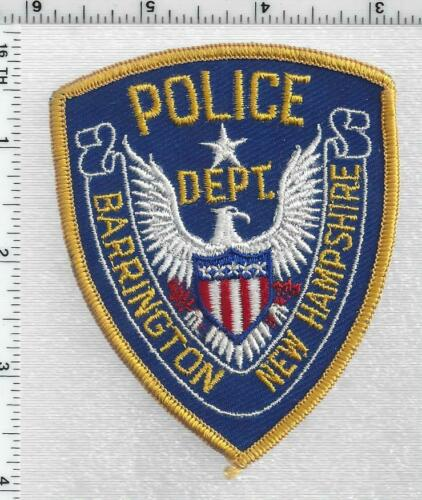 Barrington Police (New Hampshire)  2nd Issue Cap/Hat Patch