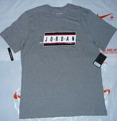 NEW MENS NIKE AIR JORDAN T-SHIRT CW0850-100 SIZE LARGE