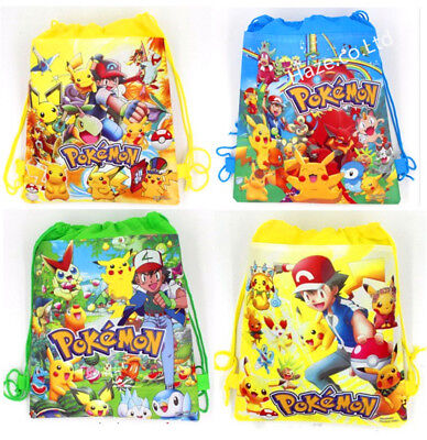 Pokemon Go children Non-woven drawstring bag Kids Gift](Pokemon Gift Bags)