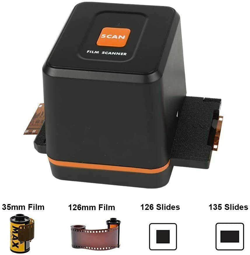 Film & Slide Scanner Converter - Convert Negatives & Slides