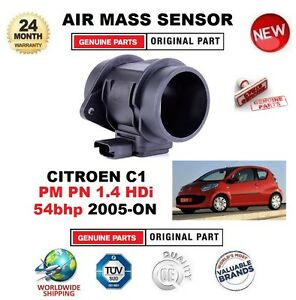 para-CITROEN-C1-PM-PN-1-4-HDi-54bhp-2005-on-Sensor-de-masa-aire-4-PIN-CON-FUNDA