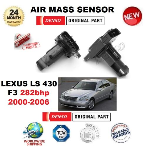 FOR LEXUS LS 430 F3 282bhp 2000-2006 DENSO AIR MASS SENSOR 5 PIN w/o HOUSING