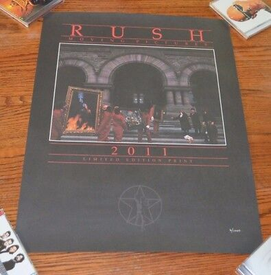 Rush Moving Pictures Poster Limited Edition 6/1000