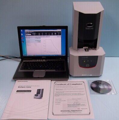 Shimadzu Biotech Biospec-nano Uv-vis Spectrophotometer For Life Science
