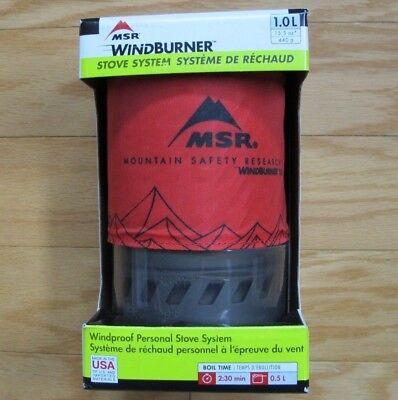 MSR WindBurner Windproof Personal Stove System 1.0 Liter