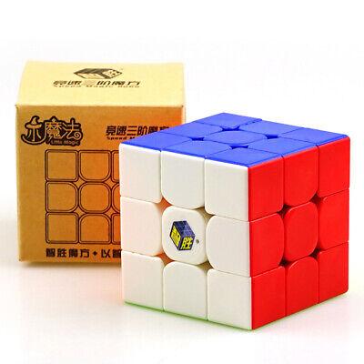 YuXin Little magic 3x3x3 Speed Contest Magic Cube Twist Puzzle Toys Stickerless