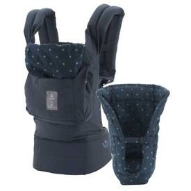 Ergo belly button baby carrier
