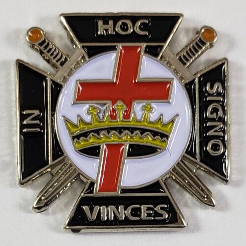 Masonic Knights Templar Lapel Pin Mason (SCA) Freemason