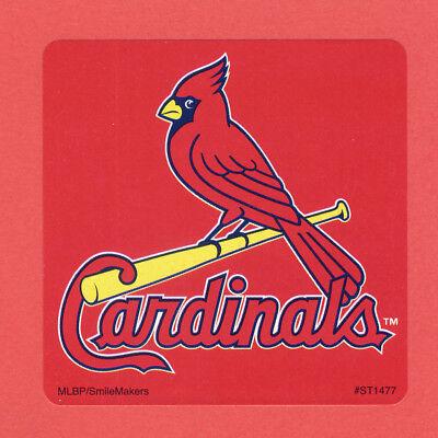 15 St. Louis Cardinals Logo - Large Stickers - Major League Baseball (St Louis Cardinals Party Supplies)