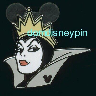 Disney Pin WDW 2019 Hidden Mickey *Villain Faces* Snow White's Evil Queen! (Disney Evil Queens)