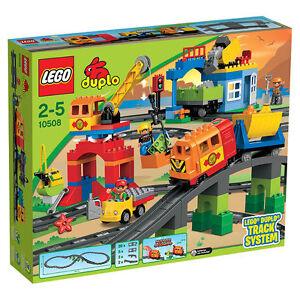 LEGO LEGO LEGO Duplo Eisenbahn Super Set (10508) 0b2df5