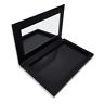 Empty Magnetic Makeup Organiser - Gloss Black Large Mirror - Z Palette