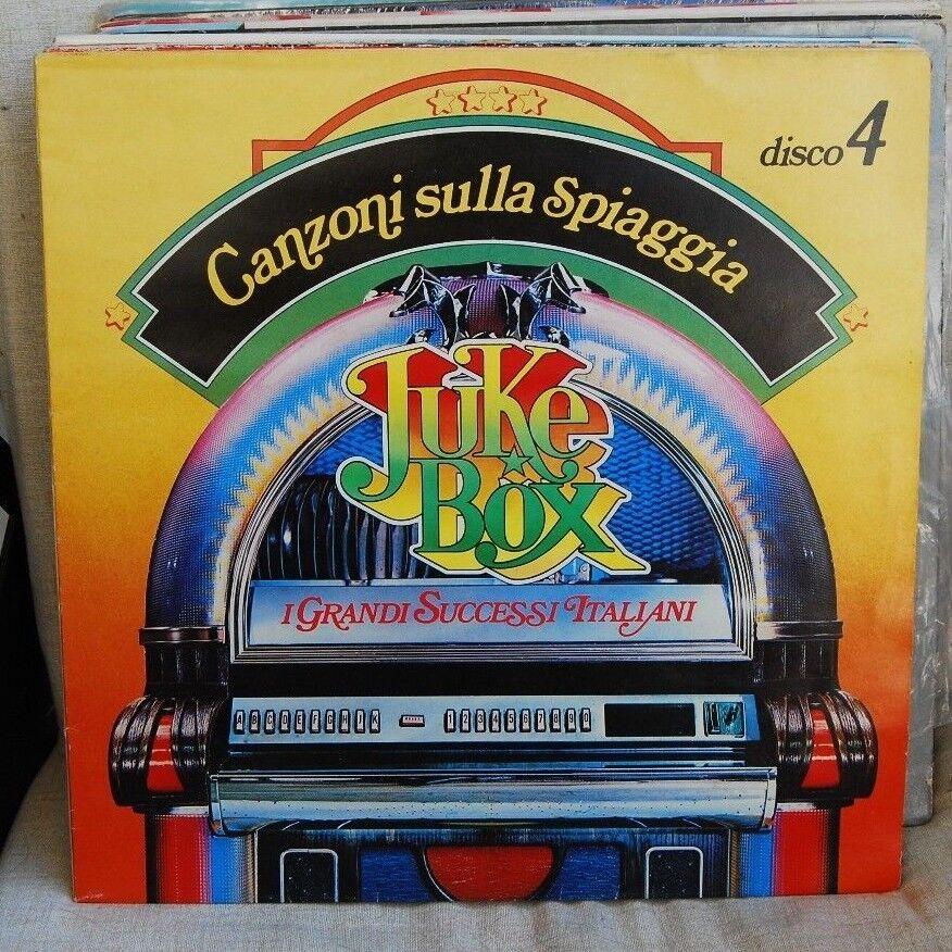 JUKE BOX - I GRANDI SUCCESSI ITALIANI CANZONI SULLA SPIAGGIALP N. 3055