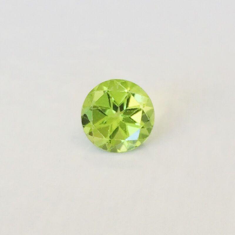 Natural 5, 6, 7, 8 mm Round  Loose Peridot Gemstone