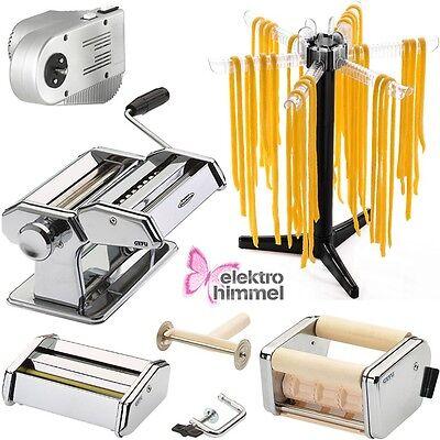 GEFU XXL Set Nudelmaschine + Elektro-Motor + Nudeltrockner Pastamaschine NEU/OVP