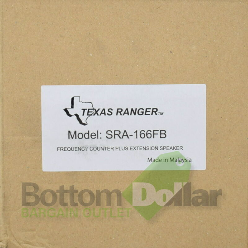 Texas Ranger SRA-166FB Frequency Counter Extension Speaker