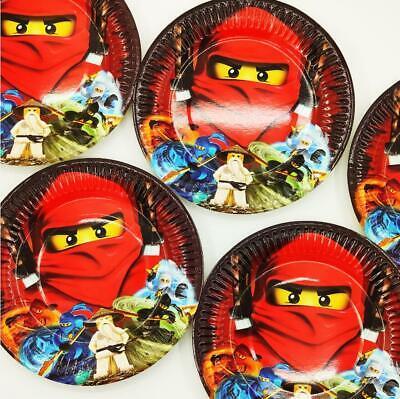 Ninjago Ninja Theme Party Favors Disposable One-off Paper - Ninja Party