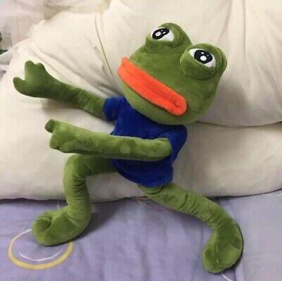 Pepe The Frog Sad Plush Meme Animal Stuffered Toy