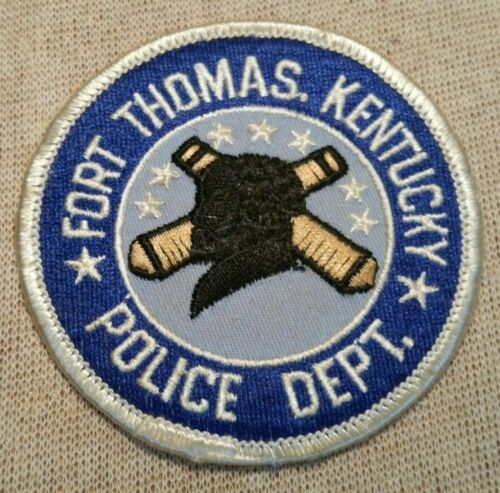 KY Fort Thomas Kentucky Police Patch (3In)